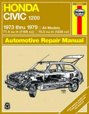Honda Civil 1200 Haynes Redress Manual (1973-1979)
