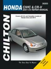 Honda Civic/cr-v (2001-04) Chilton Manual