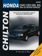 Honda Civic/crx/del Sol (1984-95) Chilton Manual