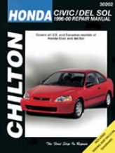 Honda Civic/del Sol (1996-00) Chilton Manual