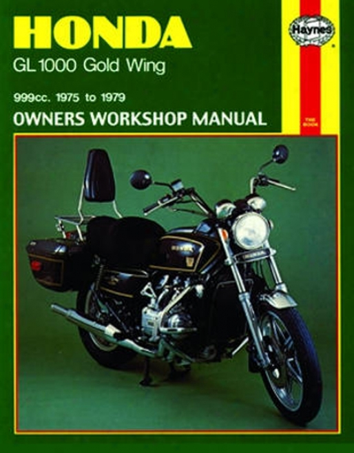 Honda Gl1000 Gold Wing Haynes Repair Manual (1975 - 1979)