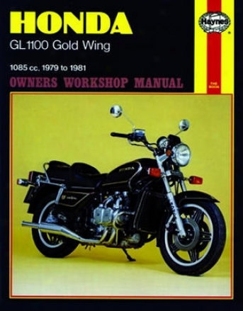 Honda Gl1100 Gold Wing Haynes Repair Manual (1979 - 1981)