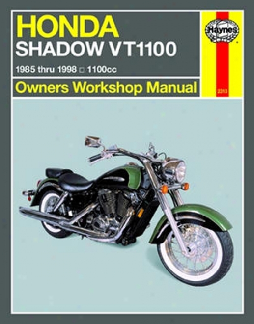 Honda Shadow Vt1100 Haynes Repair Manual (1985 - 1998)