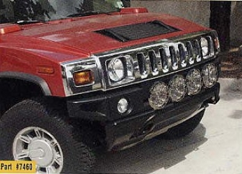 Hummer H2 Frong End Light Obstacle
