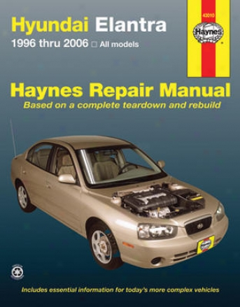 Hyundai Elantra Haynes Repair Manual (1996-2006)