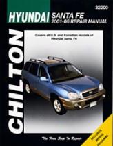 Hyundai Santa Fe (20O1-06) Chilton Manual
