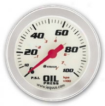 Iequus Performance 2'' Oil Pressure Gauge