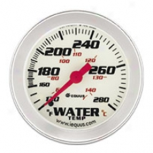 Iequus Prrformance 2'' Water Temperature Gauge
