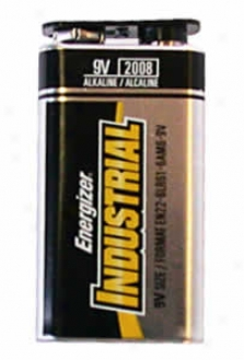 Industrial Alkaline Batteries - 9 Volt, 12 Pack