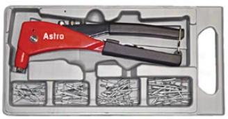 Industrial Hand Rivrter Kit - 3/32'', 1/8'', 5/32'' And 3/16'' Capacity