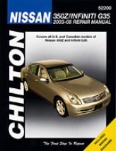 Infiniti G35//nissan 350z (2003-08) Chilton Manual