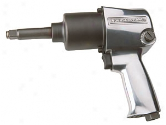 Ingersl Rand 1/2'' Airing Super Duty Air Impact Wrench - 2'' Extended Anvil