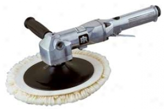 Ingersoll-rand Heavy Duty Air Angle Polisher/buffer - 7'' Pad