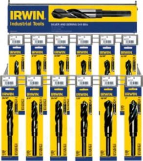 Irwin 12pc Hss Drilp Bit Display