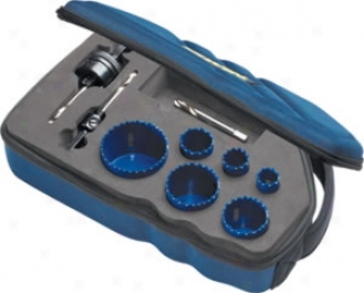 Irwin 9 Piece Bi-metal Hole Saw Set - (6 Sizes)