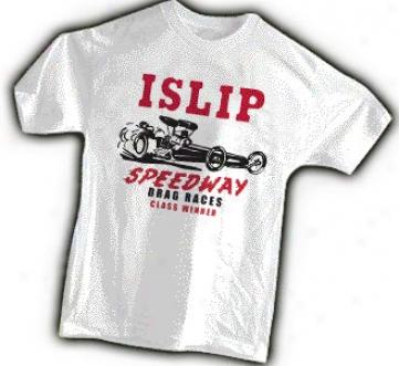 Islip Speedway Drag Races Tee Shirt