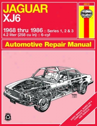 Jaguar Xj6 Haynes Repair Manual (1968 - 1986)