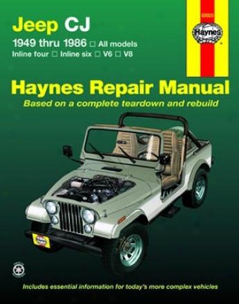 Jeep Cj Haynes Repair Manual ((1949-1986)