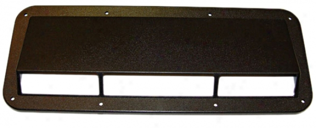 Jeep Cj & Yj Black Plastic Drive down Air Induction Scoop
