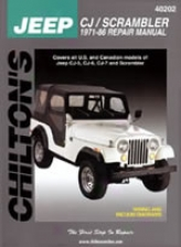 Jeep Cj/scrambler (1971-86) Chilton Manual