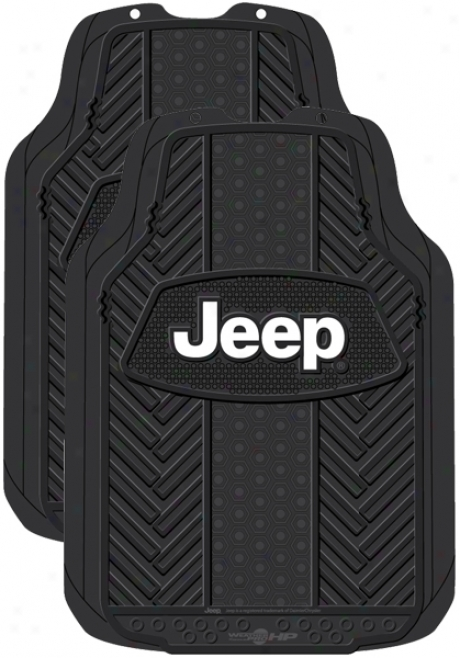 Jeep Weatherpro Rubber Cover with a ~ Mats (pair)