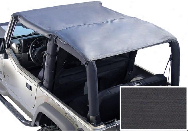 Jeep Wrangler Black Denim Volume Bar Top