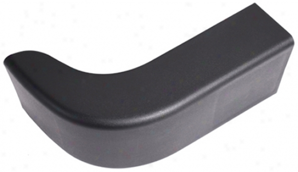 Jeep Wrangler Black Face Bumper End