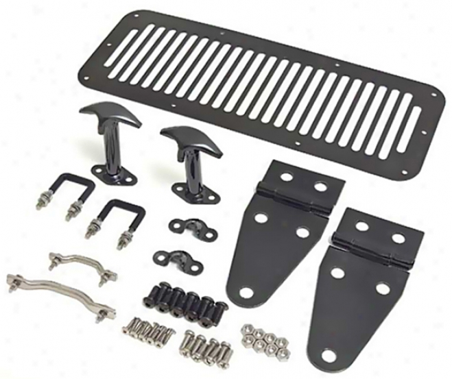 Jeep Wrangler & Cj Black Cgrome Hkod Kit