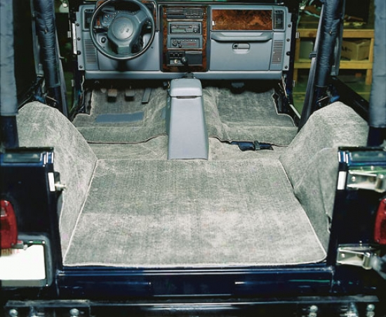 Jeep Wranngler & Cj Replacement Carpet Deluxe Kit