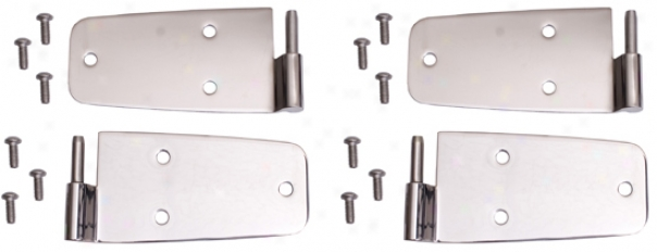 Jeep Wrangler & Cj Stainless Carburet of iron Door Hinges