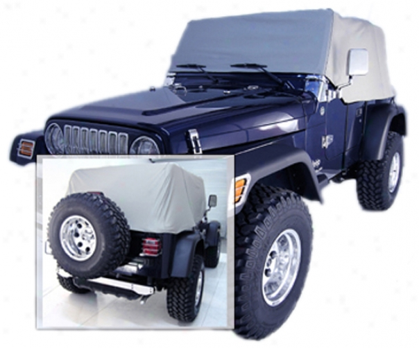 Jeep Wrangler & Cj Water Resistant Vinyl Cab Covers