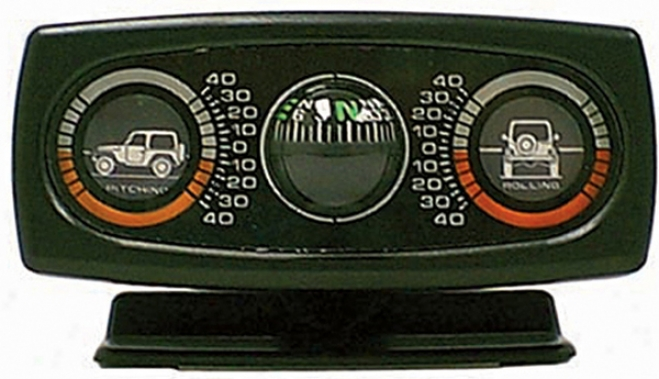 Jeep Wrangler Clinometer With Compass