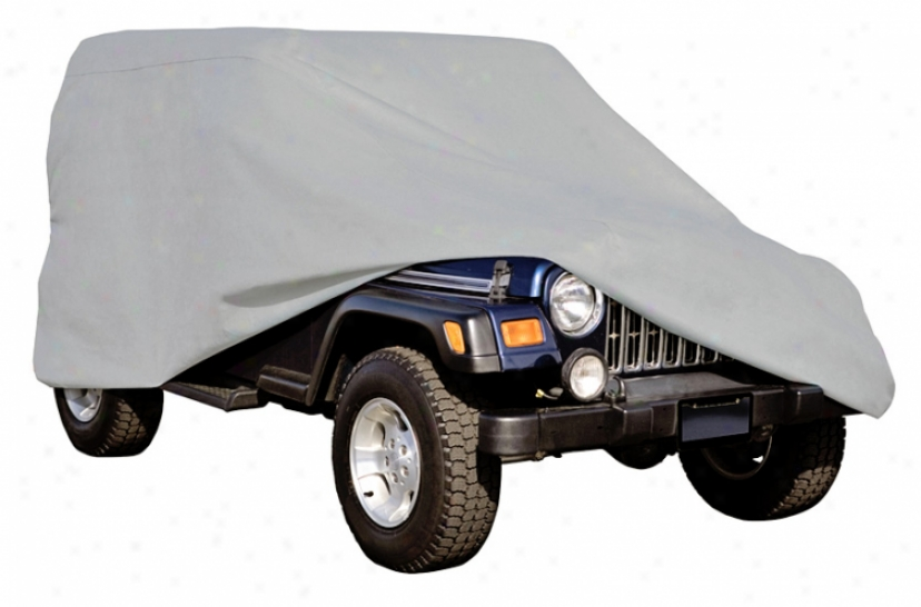 Jeep Wrangler Deluxe Polypro Iii Cover