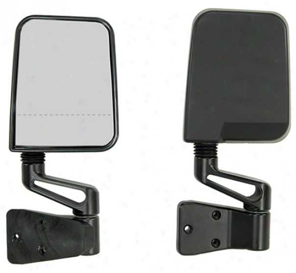 Jeep Wrangler Dual Focal Point Mirrors