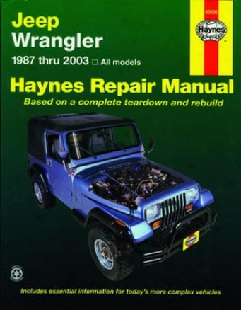 Jeep Wrangler Haynes Repair Manual (1987-2003)