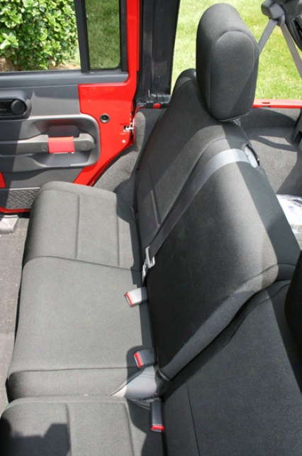 Jeep Wrangler Jk 4-door Rear Seat Cover (2007-2009)