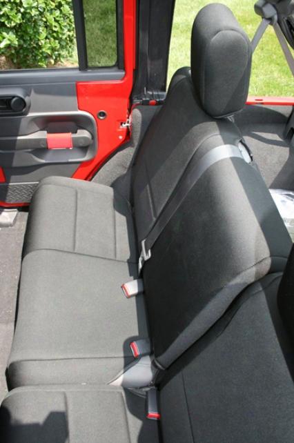 Jeep Wrangler Jk 4-door Rear Seat Cover (2007-2009)