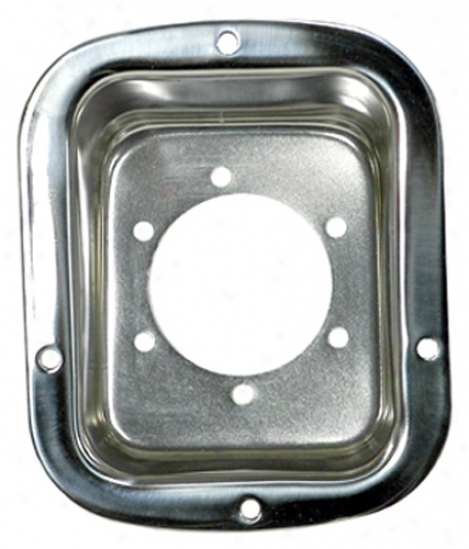 Jeep Honor man Stainless Steel Gas Tank Filler Cover