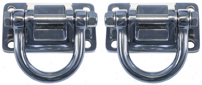 Jeep Wrangler Xhd Bumper Stainless Steel D-rings (pair)