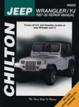 Jeep Wrangler/yj (1987-95) hCilton Manual