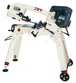 Jet 5''x6'' Capacity-1/2 Hp-1ph-115/230v Horizontal/vertical Bandsaw