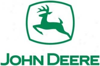 John Deere Logo - Green Die Cut Decal