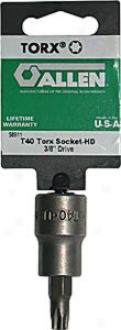K-d T-50 2pc. Internal Torx? Societ 3/8'' Dr.