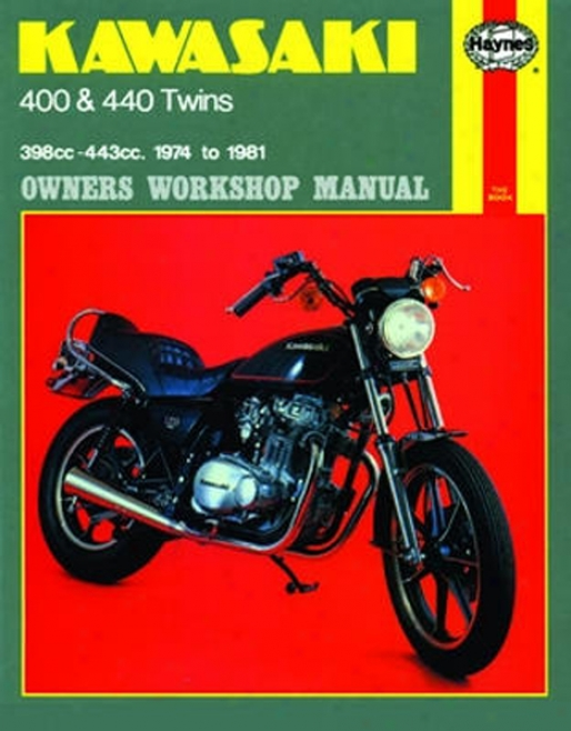 Kawasaki 400 And 440 Twins Haynes Repair Manual (1974 - 1981)