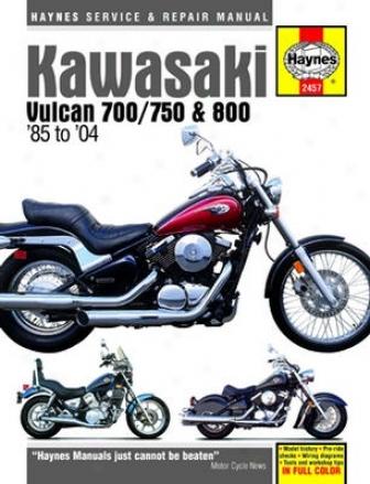 Kawasaki Vulcan 700, 750 And 800 Haynes Repair Manual (1985 - 2004)