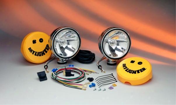 Kc Hilites Daylighter 130 Watts Halogen Long Range Off-rlad Lights