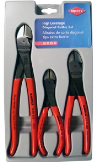 Knipex 3 Pc. High Leverage Diagonal Cutter Set