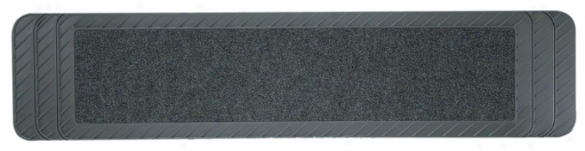 Kraco Premium Carpet/rubbdr Rear Runner Floor Mat For Trucks And Suvs