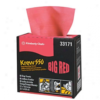 Krew? 550 Big Red Heavy Duty Shop Towels