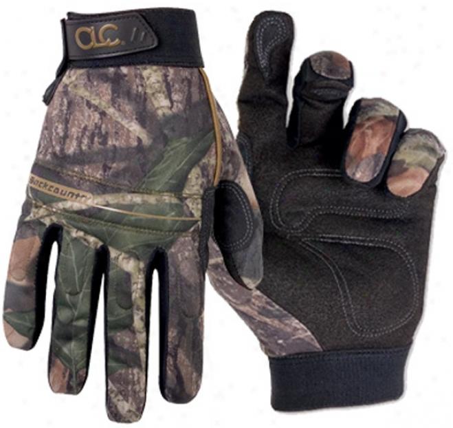 Large Mossy Oak Mechanic Gloves